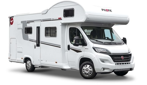 Overcab motorhome - 6 berth - Garage version